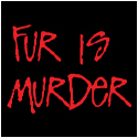Vegetarian T-Shirts: Fur Is Murder