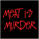 Vegetarian T-Shirt: Meat Is Murder T-Shirt